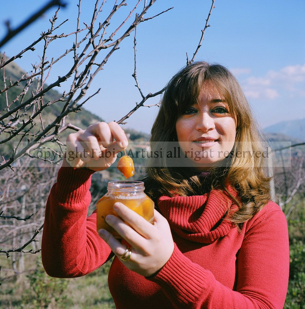 marilù monte - agronoma coltivatrice  di susine presidio di Slo