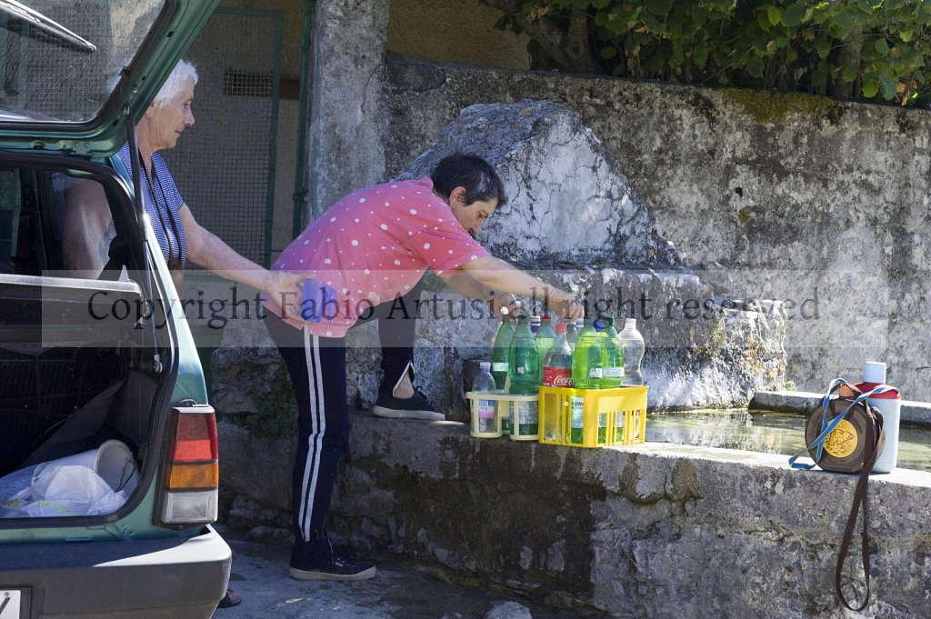 Water in Sicily