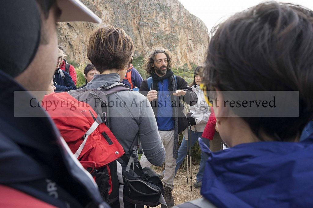 Mountain Cofano, San Vito lo Capo. Trapani. Sicily